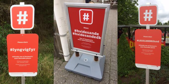 Visit Denmark signs