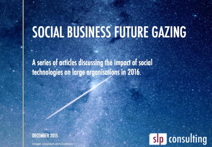 Social Business Future Gazing Series2016