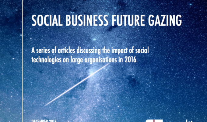 Social Business Future Gazing Series 2016