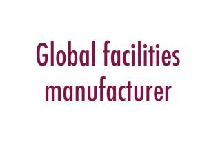 Global facilities manufacturer