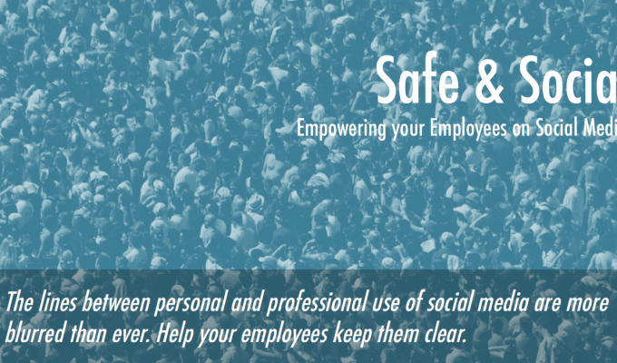 "Introducing ""Safe & Social"" – our brand new product."